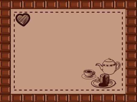 バレンタインカード-ティータイム-