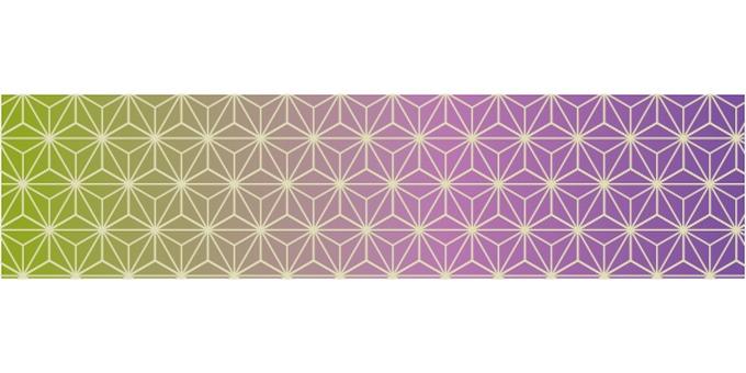 Hemp leaf pattern