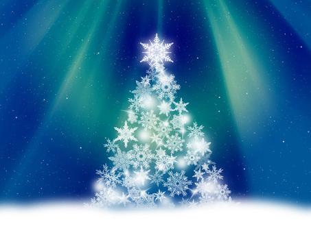 Fantastic holy night Christmas tree 1