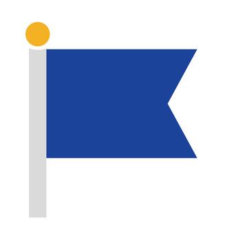 Flag (blue)