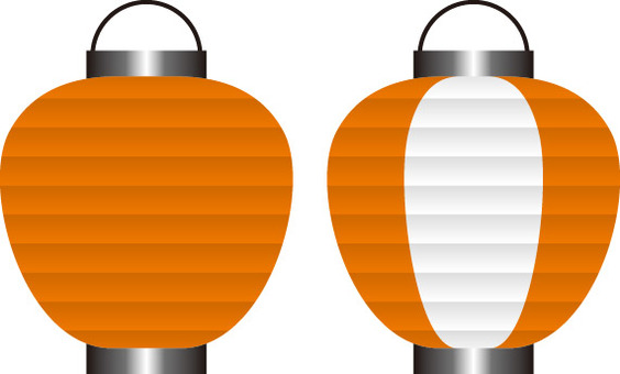 Lanterns orange