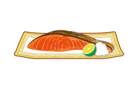 Salmon (grilled salmon)