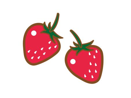 딸기 (2 개)