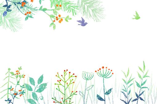 野花フレーム
