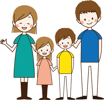 4 people family _BN03