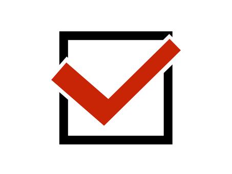 Check check box Lead point square