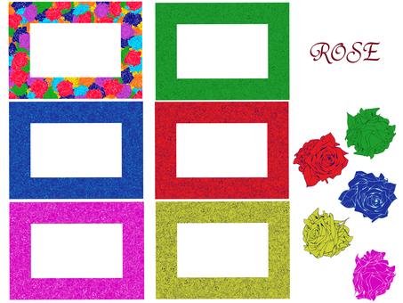薔薇 frame