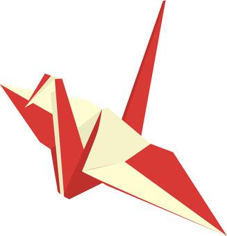 Kohaku folding crane
