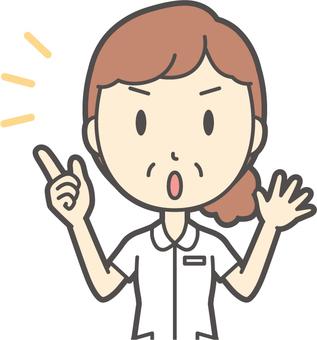 中年女護士白大衣-295-胸圍