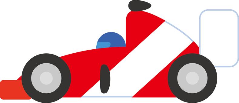 Simple racing car