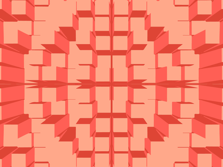 Square background (red)