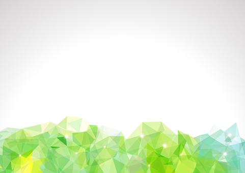 Polygon banner - Peridot