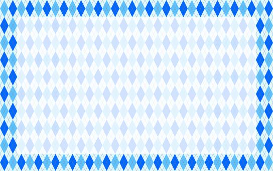 亞皆老街框架藍色
