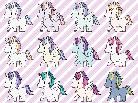 Unicorn · Pegasus · Alicorn · Pony