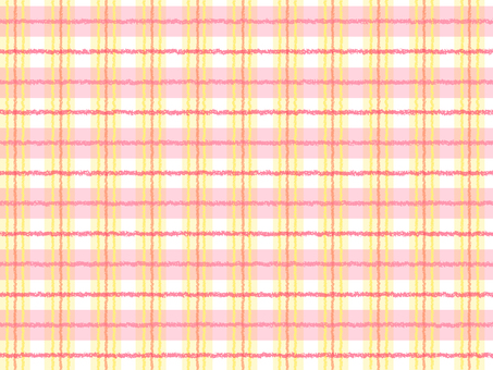 Warm color check pattern background
