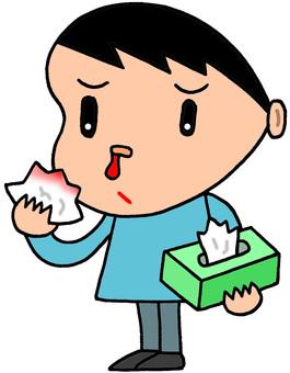 Dyspray · nosebleed