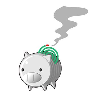 Pig mosquito coil incense