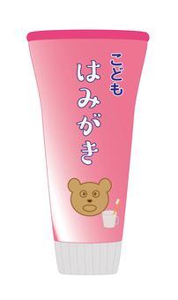 Toothpaste (for children)