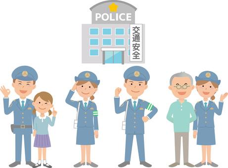 90209.警察官,セット2