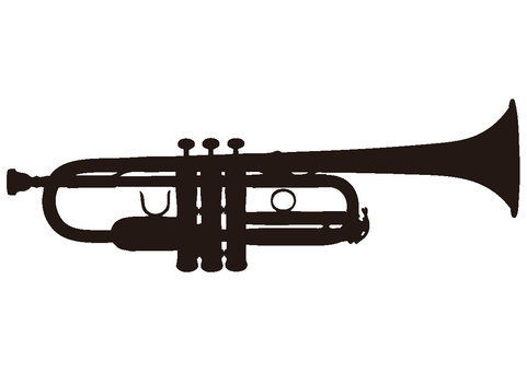 Silhouette trumpet 2