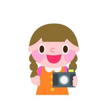 카메라를 좋아하는 여자