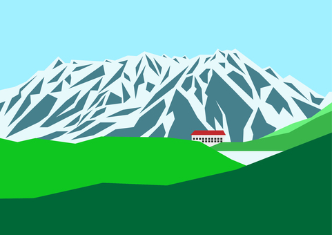 Tateyama_Hundred Mountains