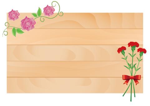 장미와 카네이션의 간판