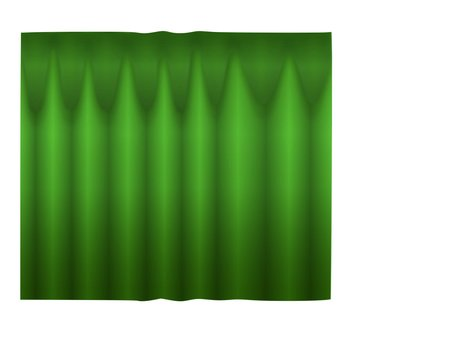 Curtain (green)