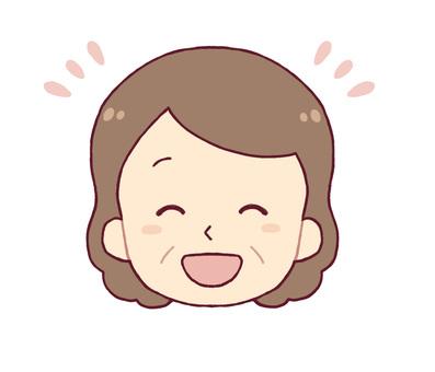 面部表情 -  Niccoli(中年女性)