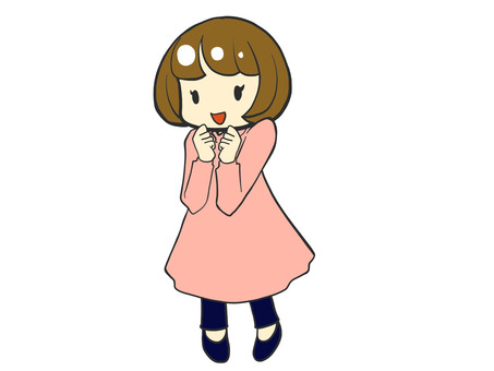 Oops Head One-Piece Dress Girl
