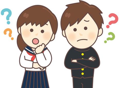 Uniform men and women _ Hatena Mark
