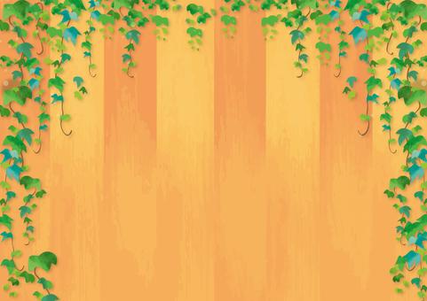Wood grain background material