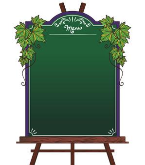 黑板菜單 -  001