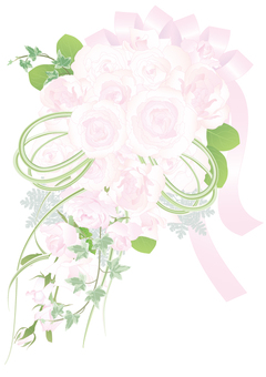 Wedding bouquet _ rose
