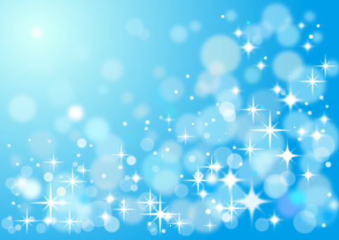 Glittering background light blue
