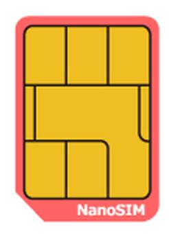 SIM card nano size