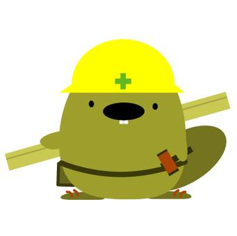 Beaver carpenter