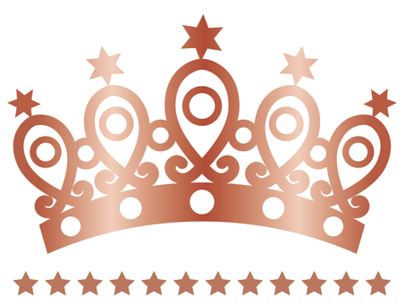 Tiara (star · bronze)
