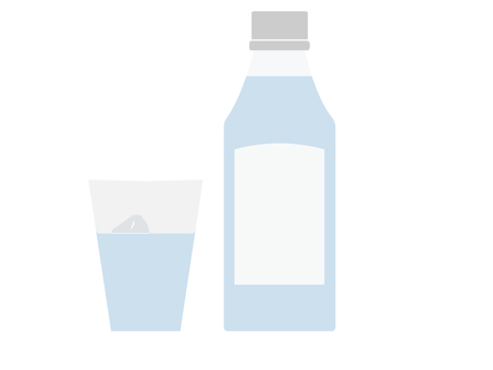 Water and cup