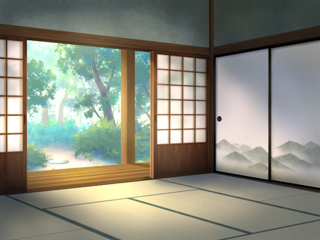 Japanese-style room side