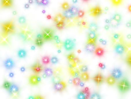Seven colors glitter