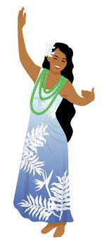 Hula Dance Hula Girl 029
