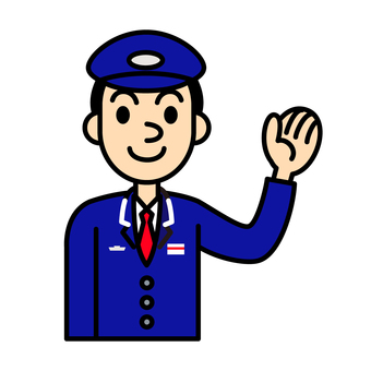 Station staff illustration 1