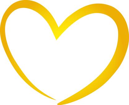 Golden Heart Frame Frame Border Frame Background Gold Picture