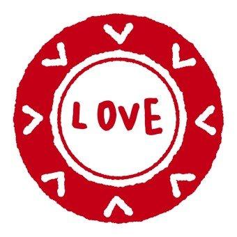 古董郵票愛紅