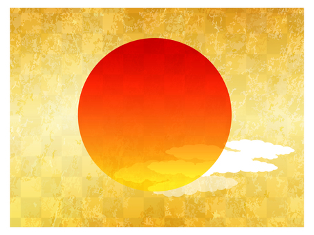 Screen painting sun