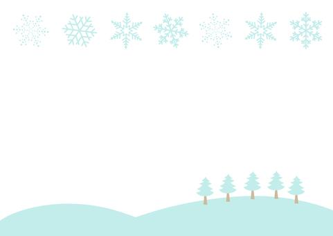 Frame Snow Winter
