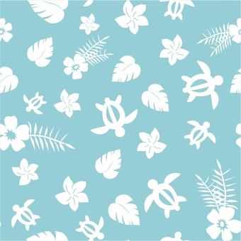 Hawaiian pattern pattern