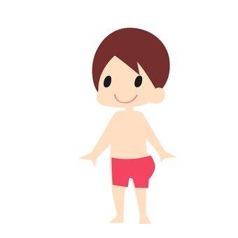 A swim suit male