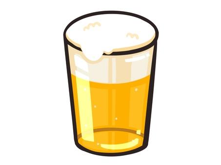 Beer illustration material